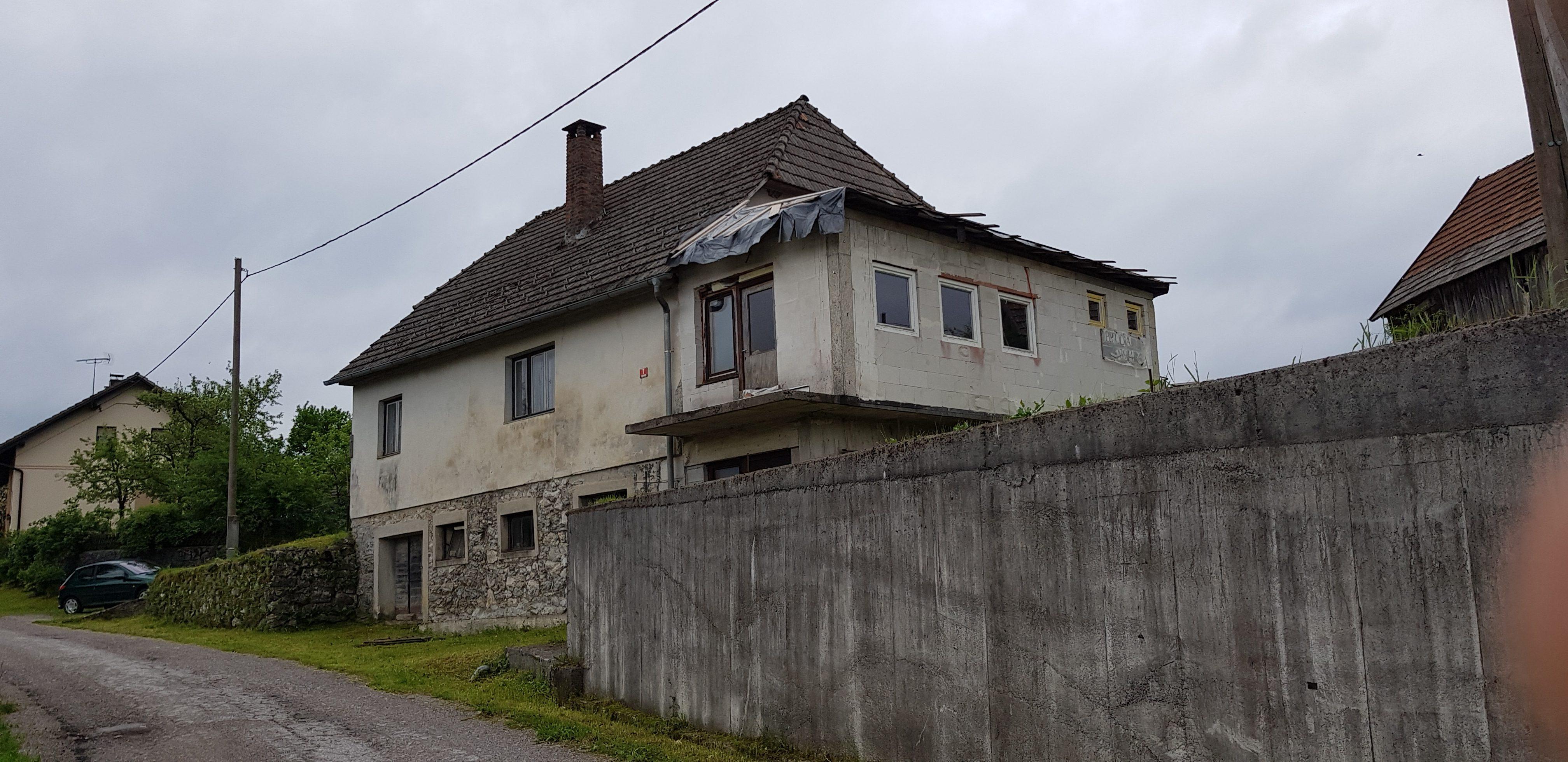Kočevje (Morava) – stanovanjska stavba