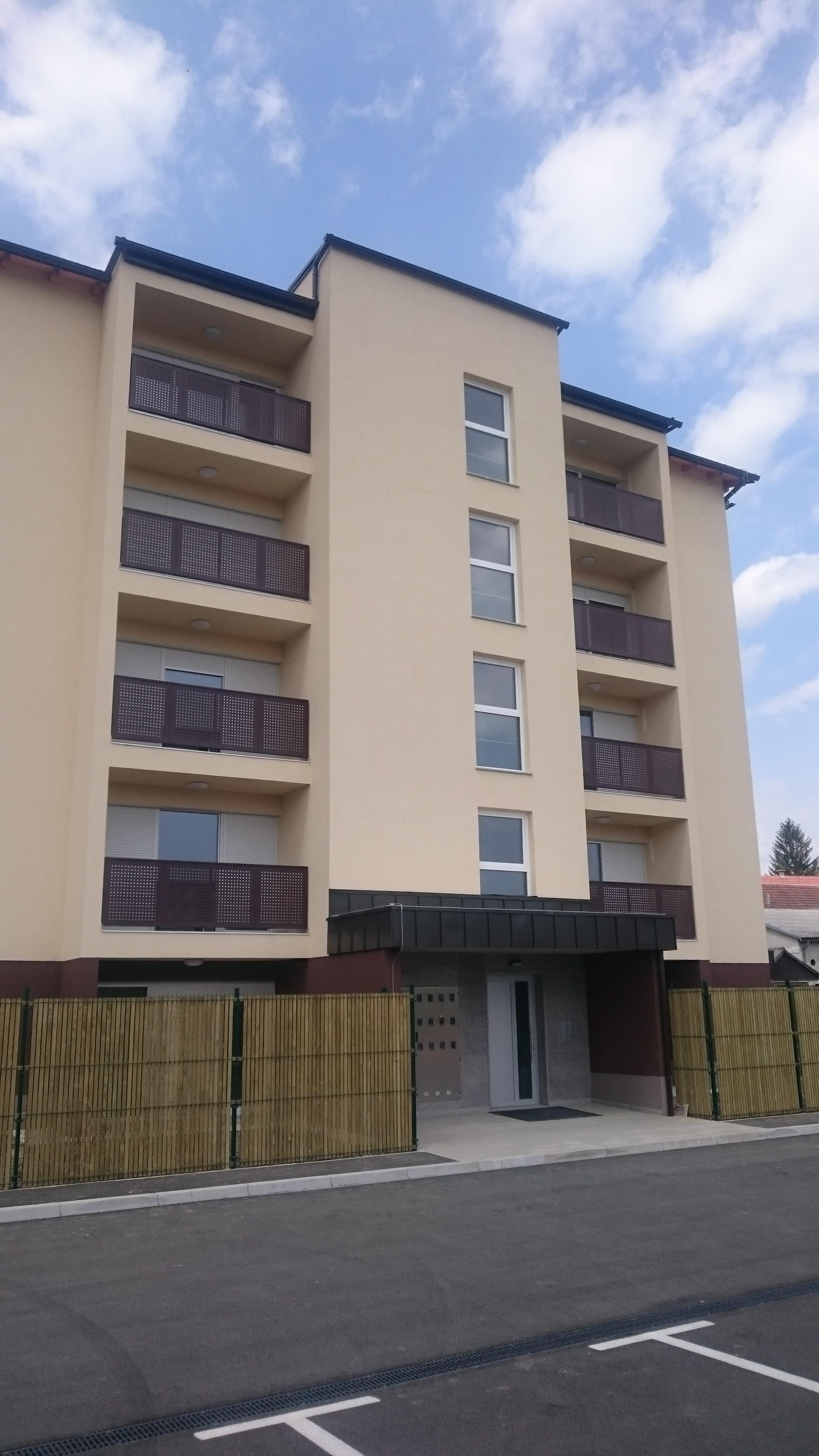 Dvosobno stanovanje z atrijem ob Rinži, Kočevje S-4 (novogradnja)