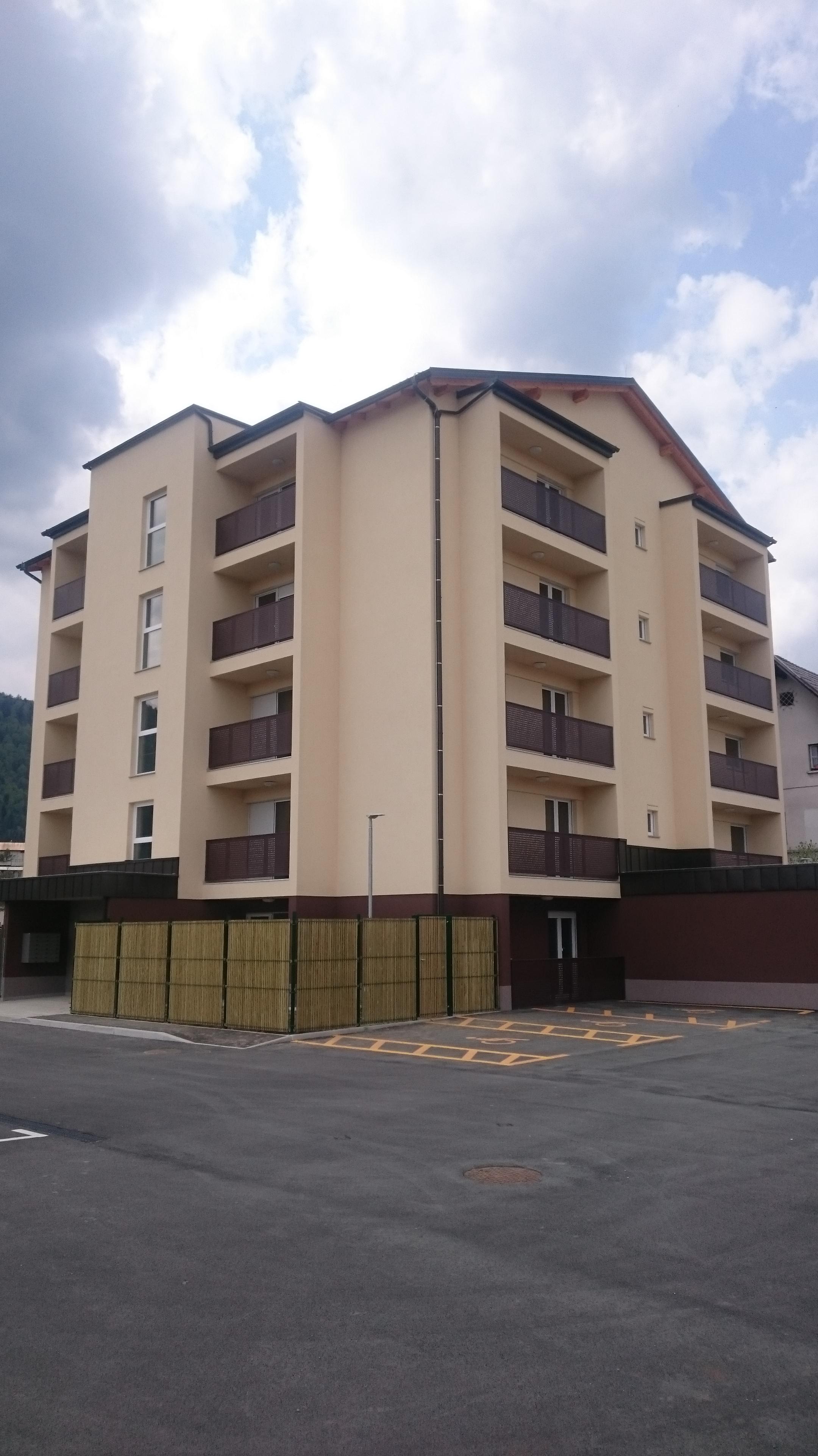 Dvosobno stanovanje ob Rinži, Kočevje 69,50m2 (novogradnja)